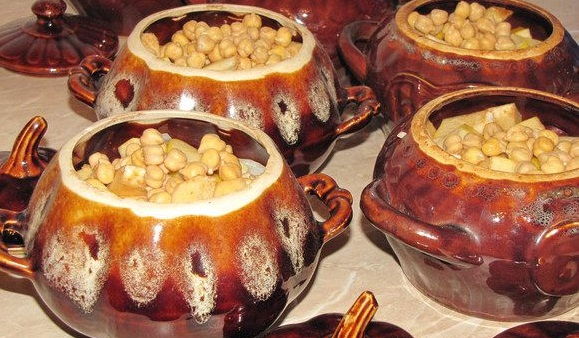 Azerbaijan soup piti - Recipes of Caucasian Cuisine