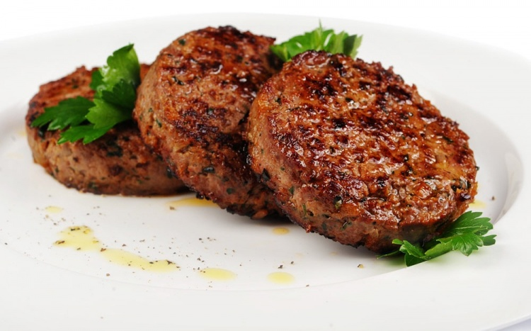 Mutton and beef cutlets