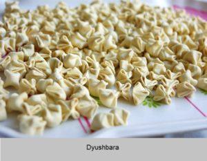 Azerbaijani dumplings. Azerbaijan cuisine