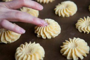 Spread the dough on a baking sheet